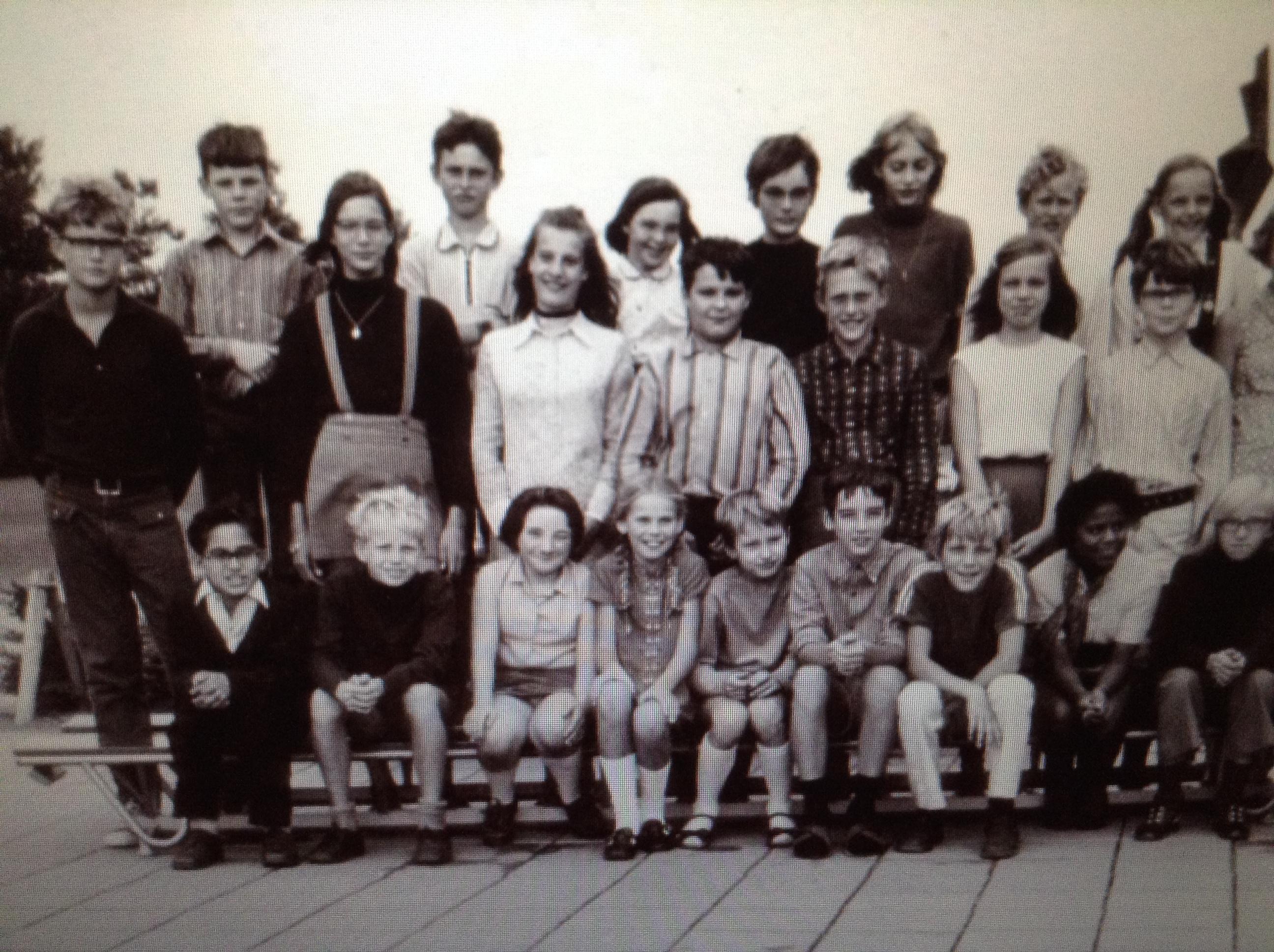 Peter van Anrooyschool foto