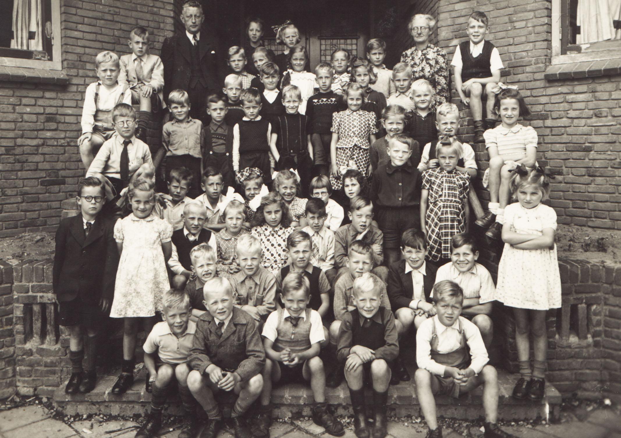 School op de Berg foto