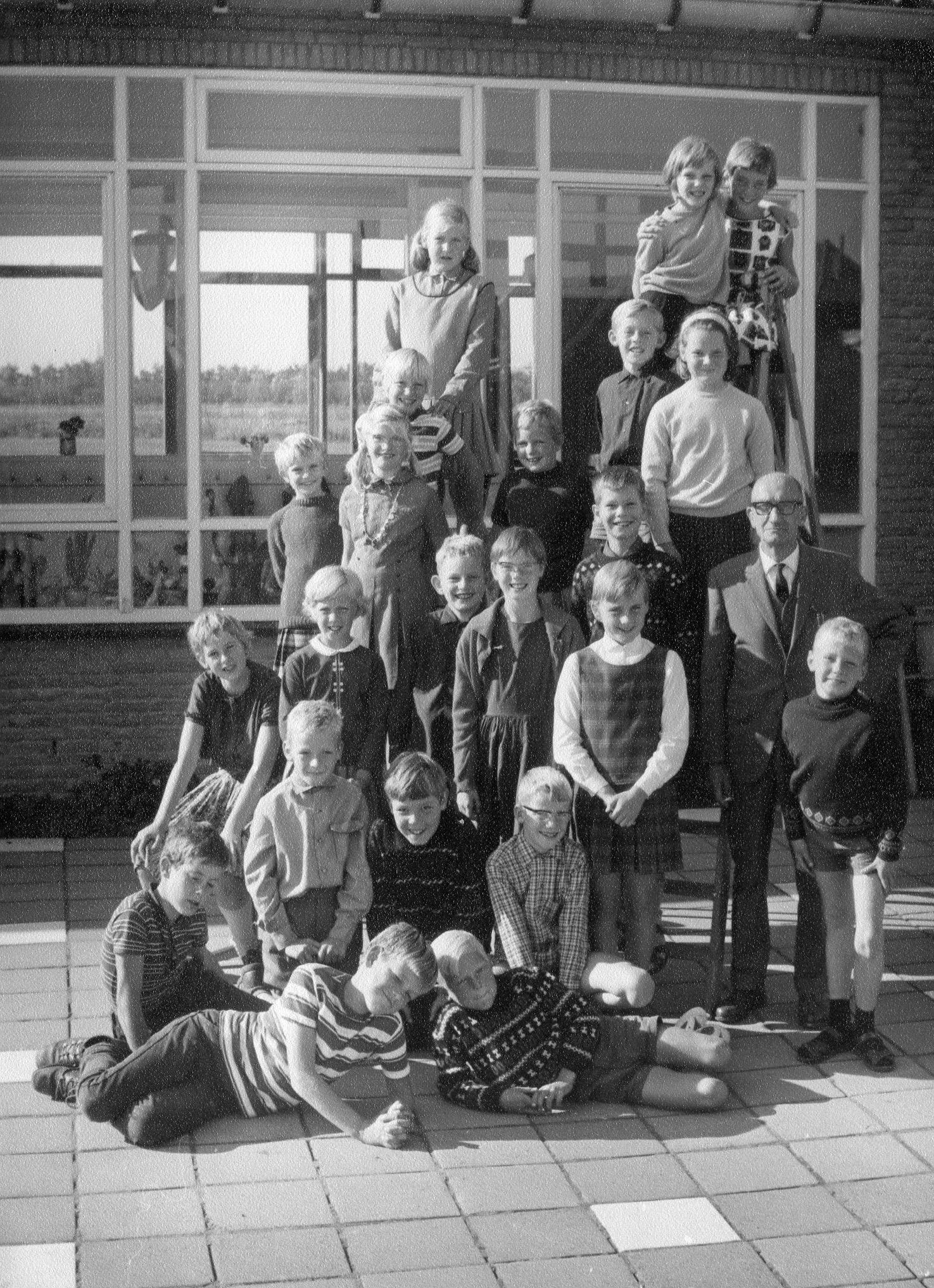 openbare lagere school. foto