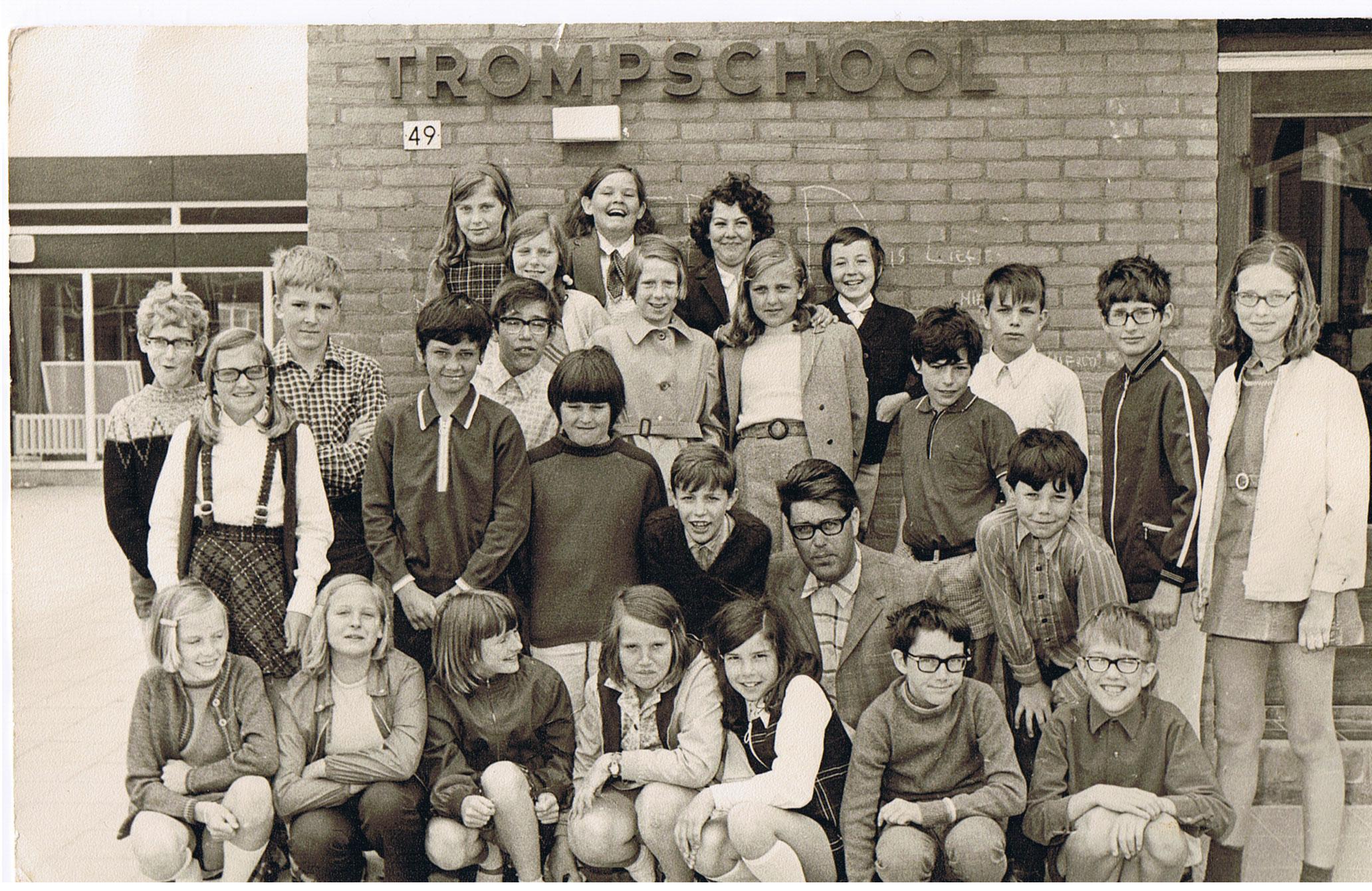 Trompschool (nu opgegaan in De Bron) foto