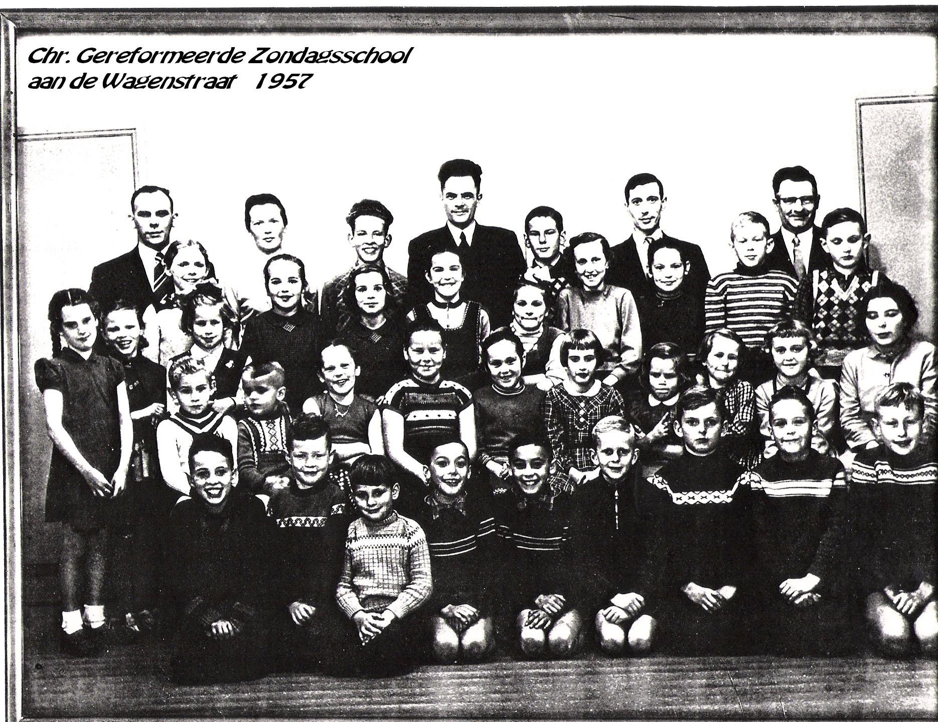 Christelijke gereformeerde Zondagsschool foto