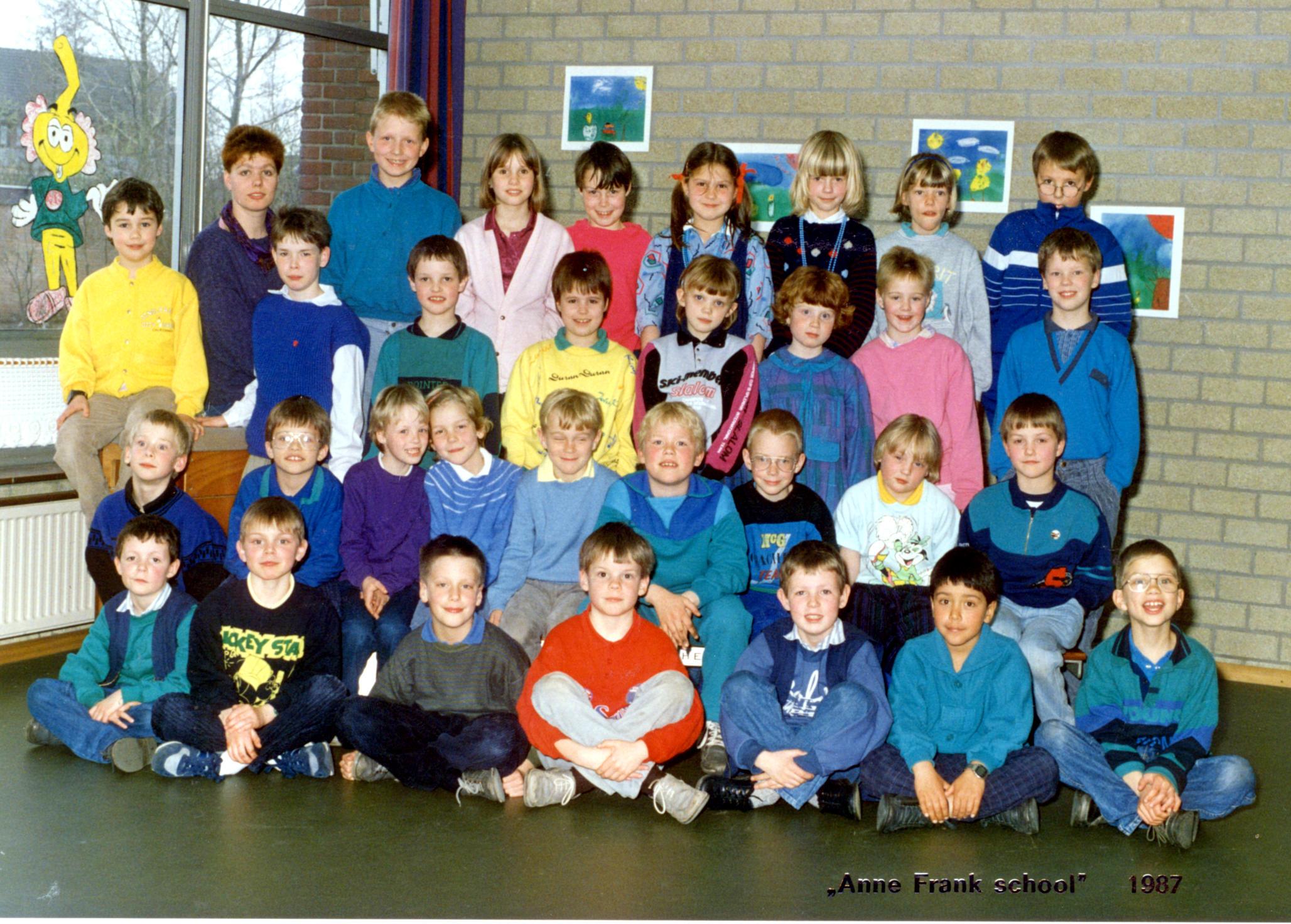 Anne Frankschool foto