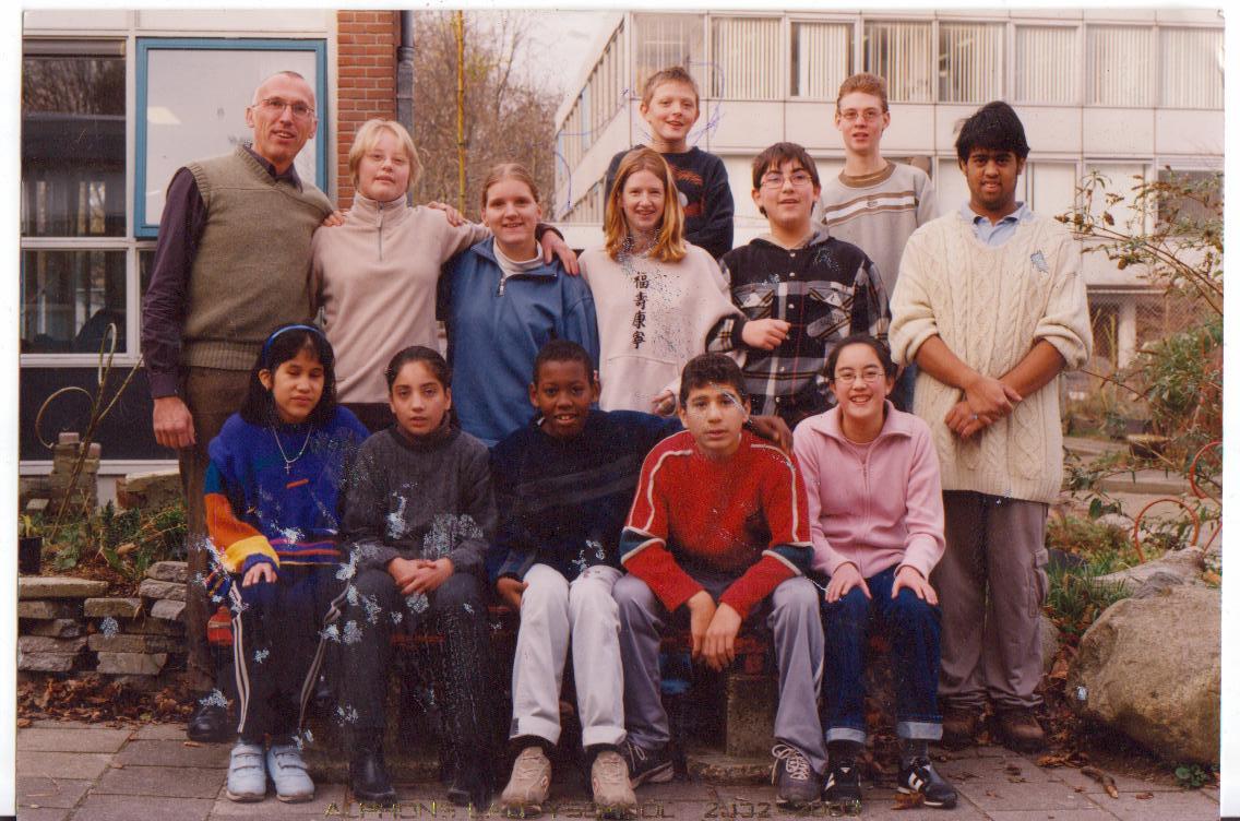 Alphons Laudyschool foto
