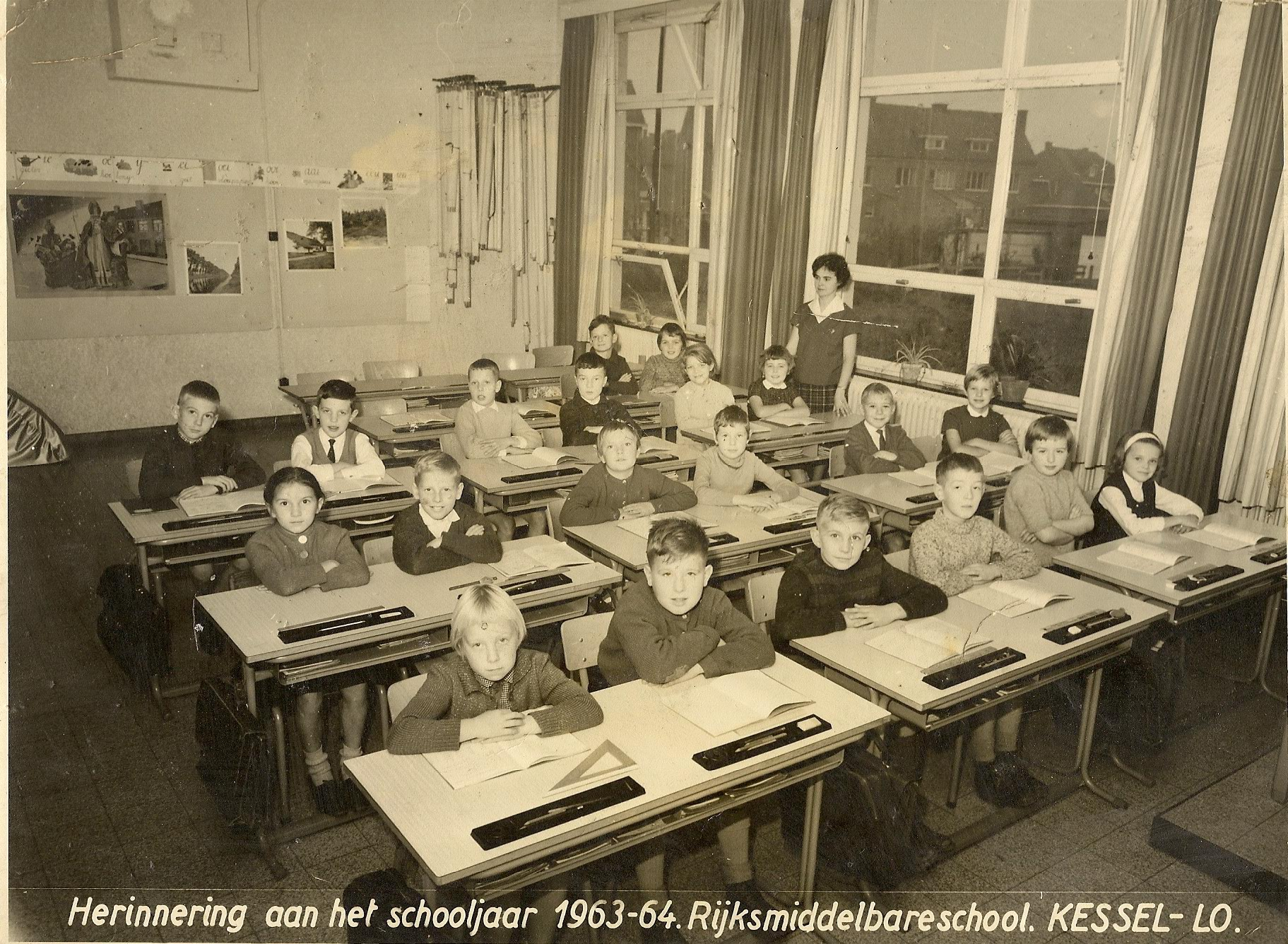 De School Middenschool van het Gemeenschapsonderwijs Kessel-Lo foto