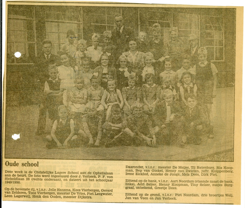 De Hoeksteen (voorheen School met den Bijbel) foto
