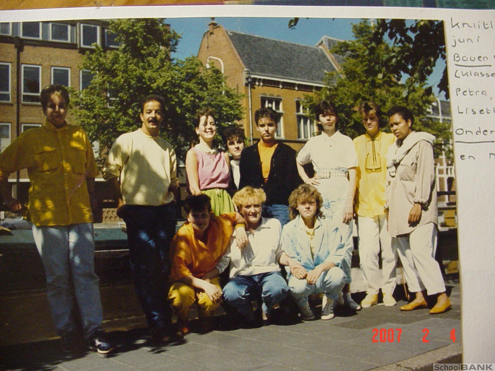 Algemene Nijverheidsschool voor meisjes Groningen foto