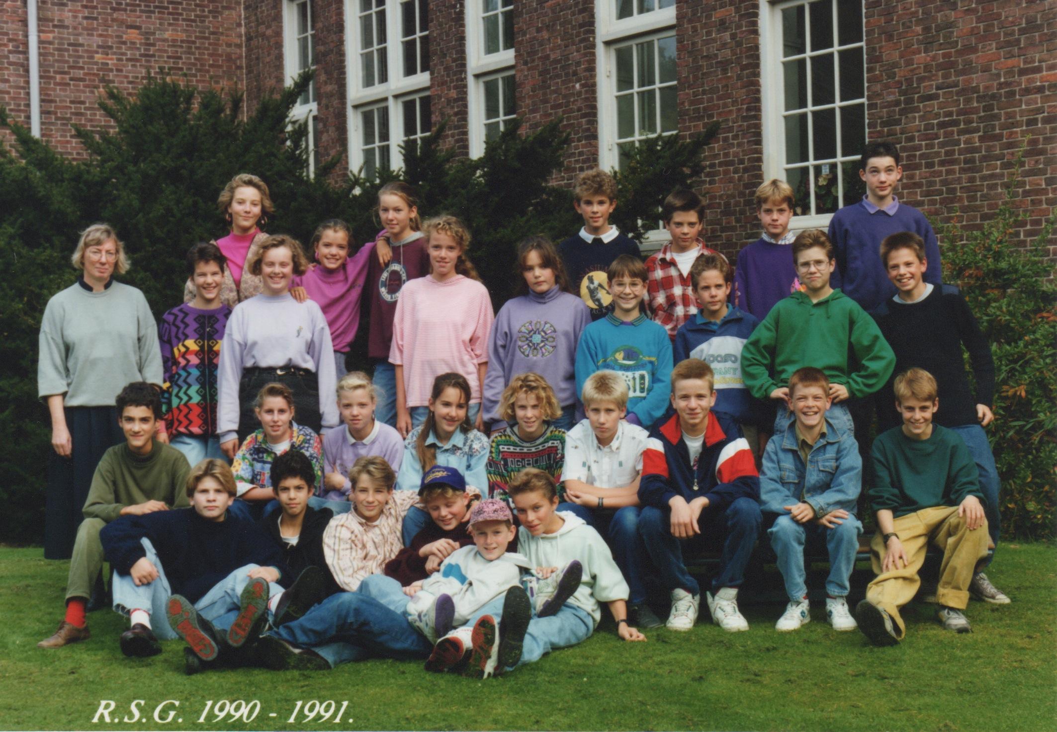 RSG Thorbecke (voorheen Rijks HBS) foto