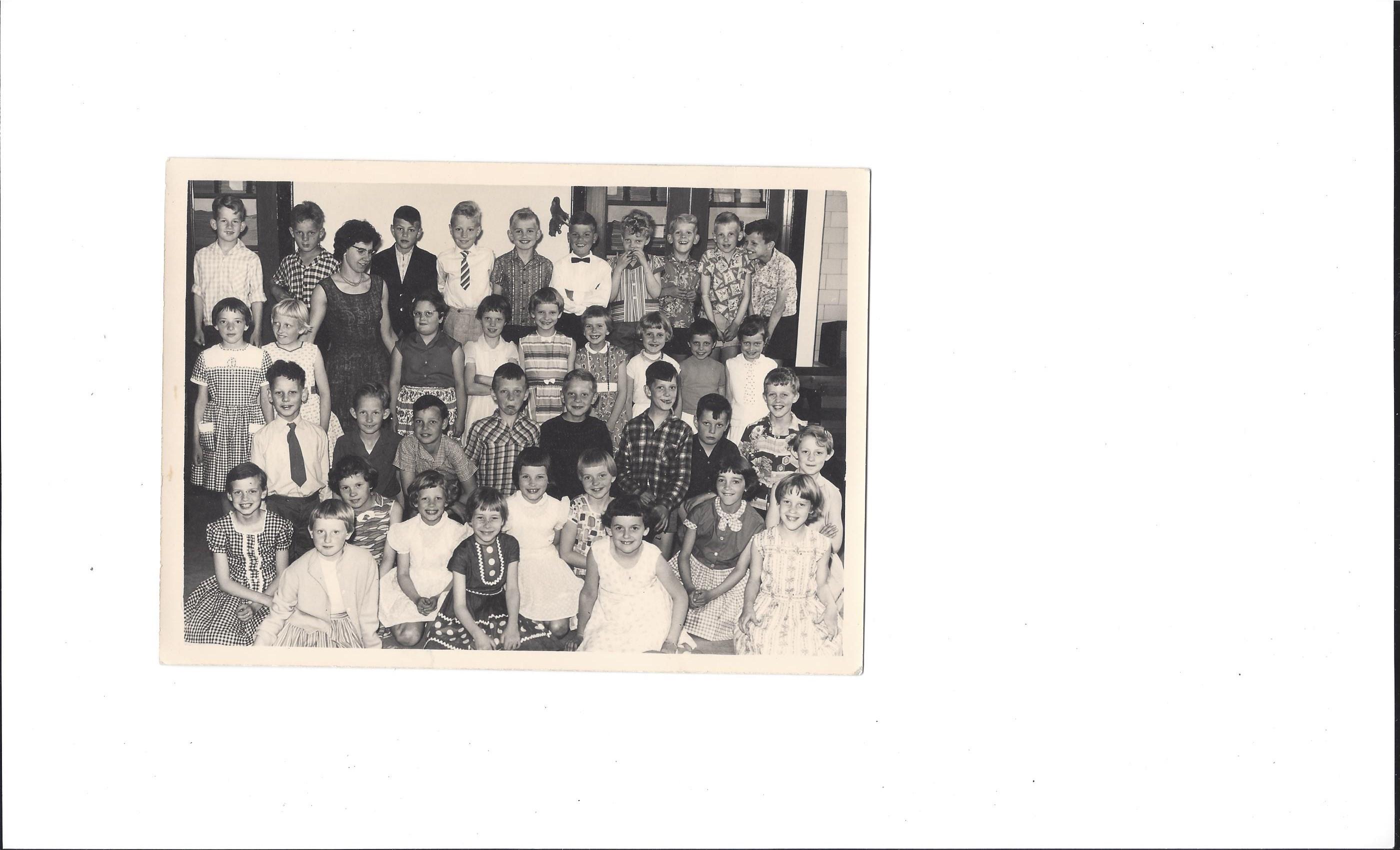 Mr. J. Terpstraschool foto