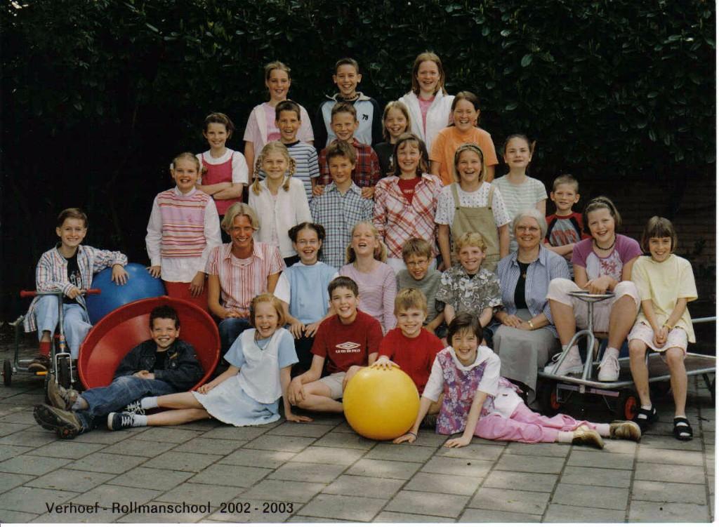 Verhoef Rollmanschool foto