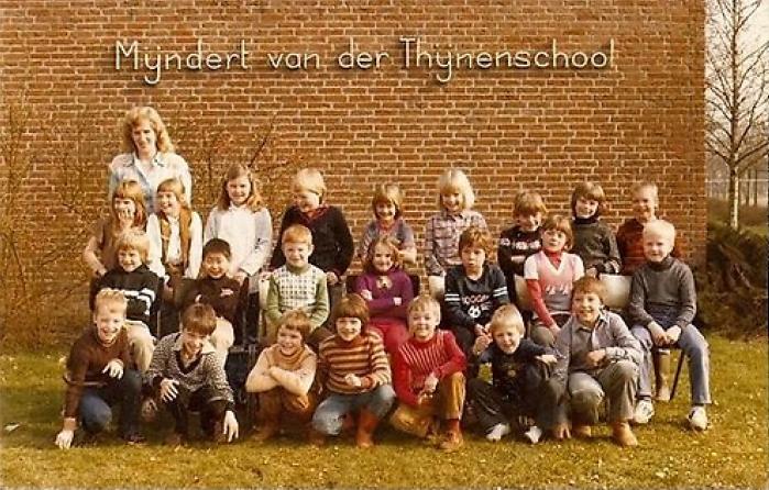 Mijndert van der Thynenschool foto