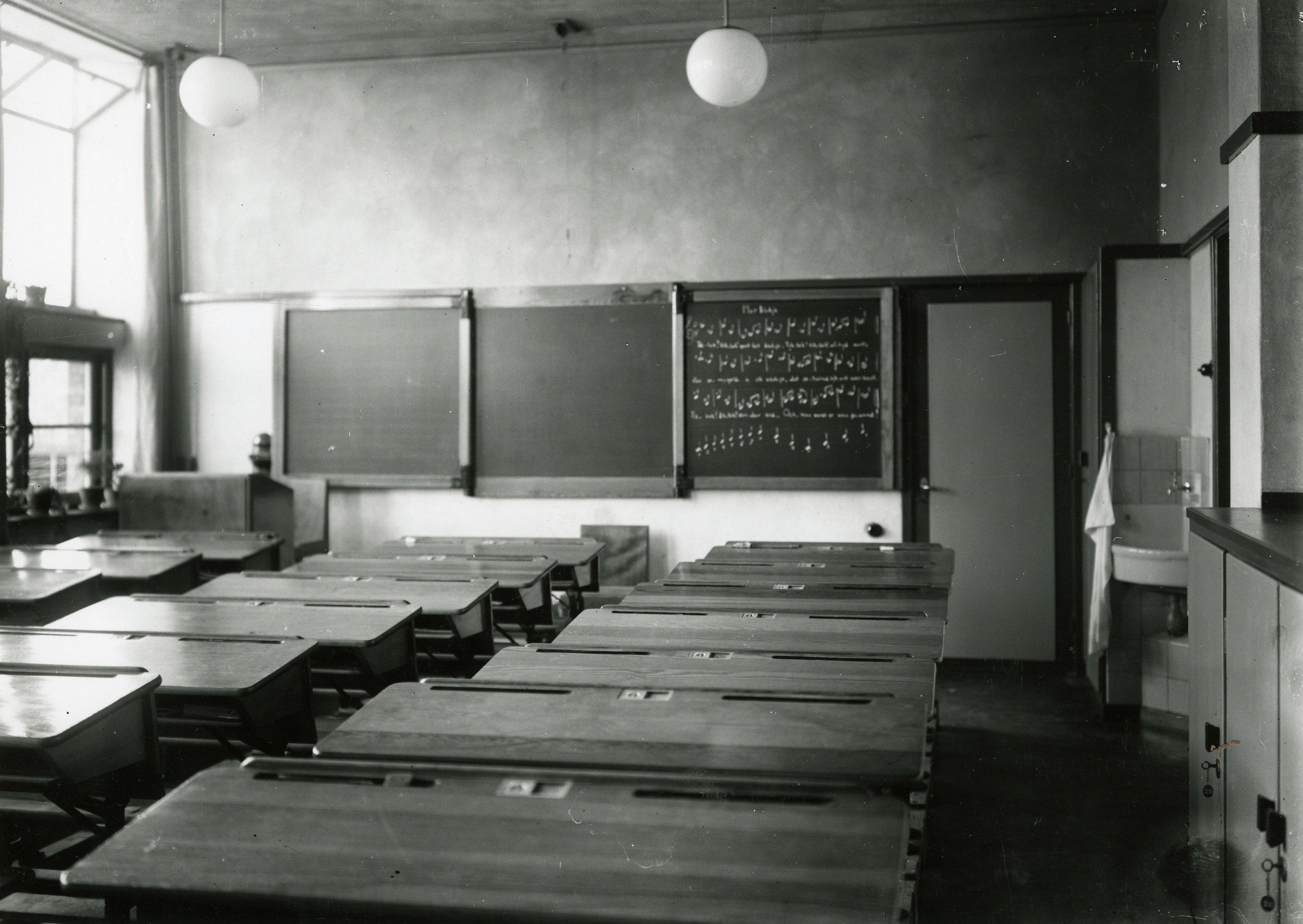 jan ligthart school foto