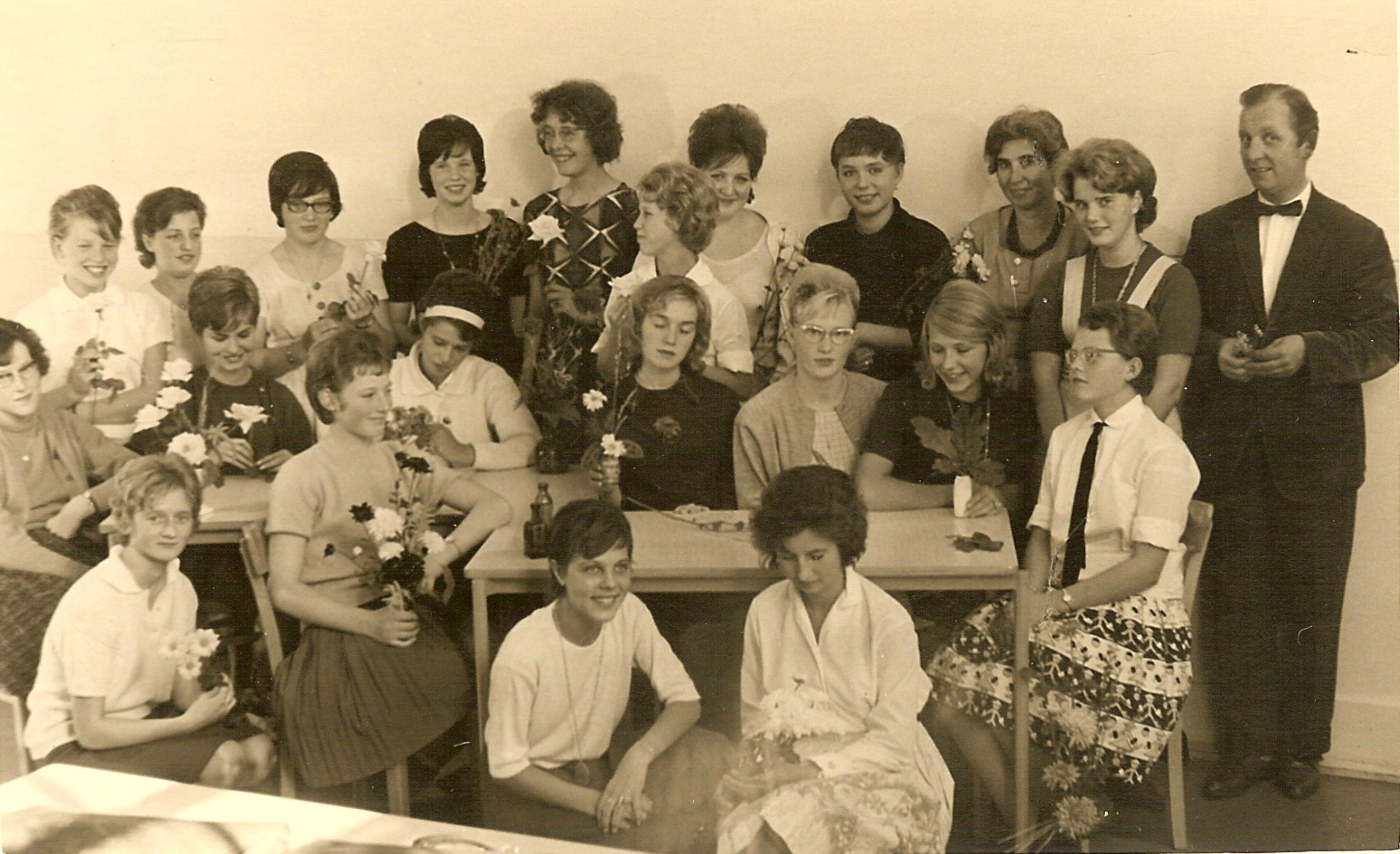 industrieschool voor meisjes foto