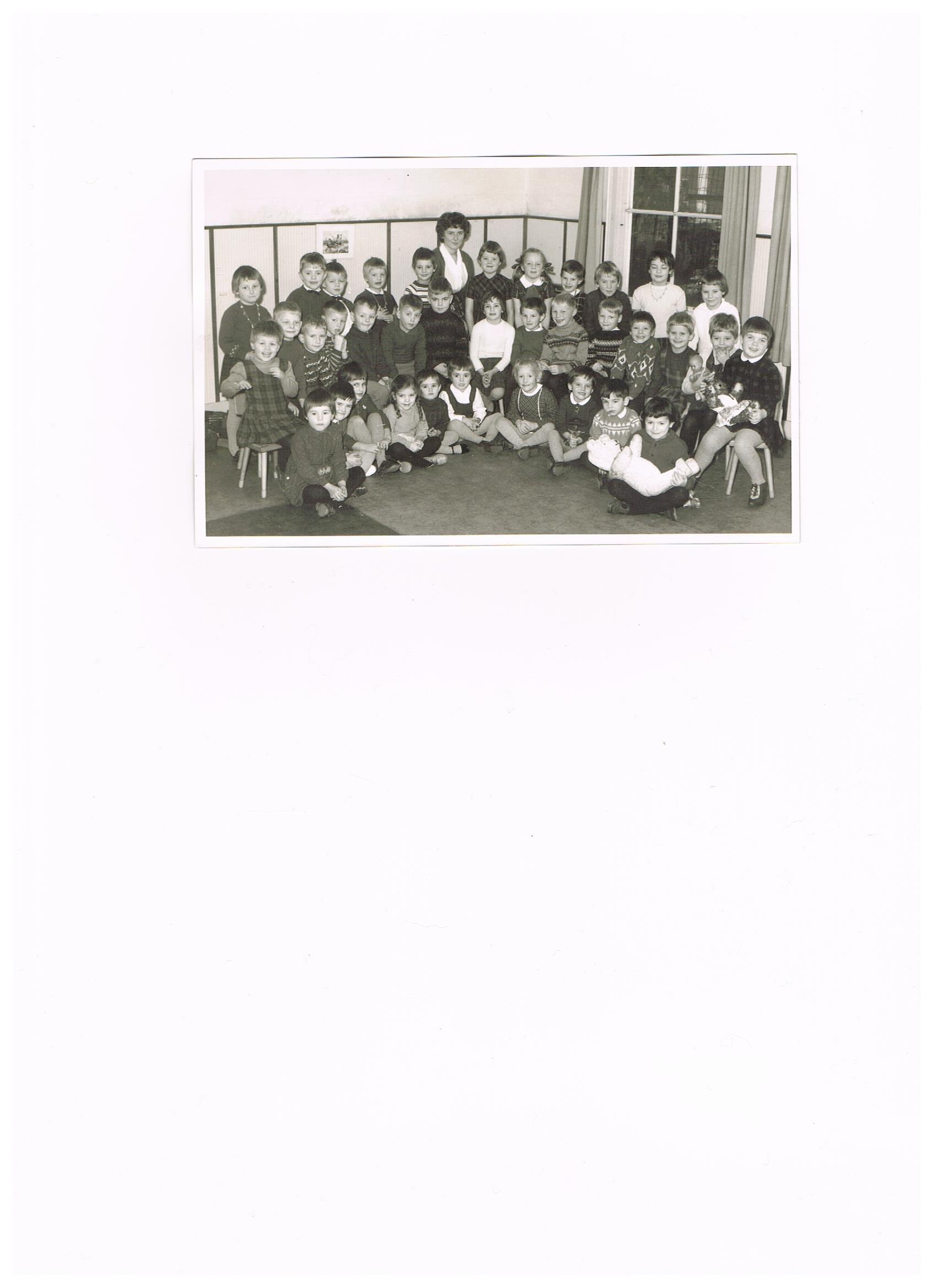 Christelijke kleuterschool foto